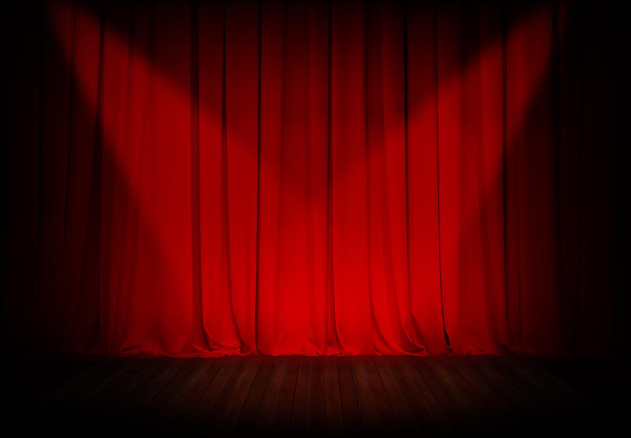 Stage curtains spotlight - Stage Bg1 Jpg