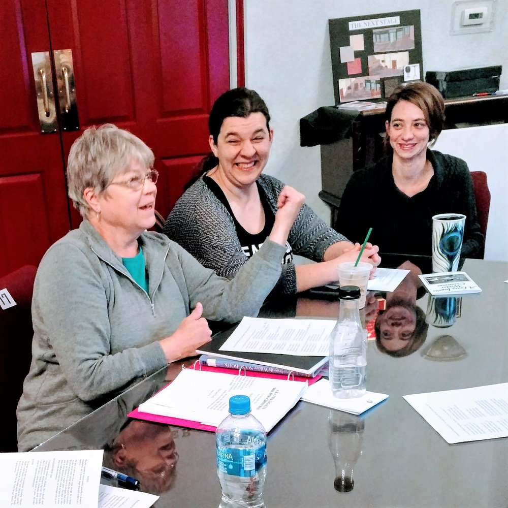 At the read through in September.