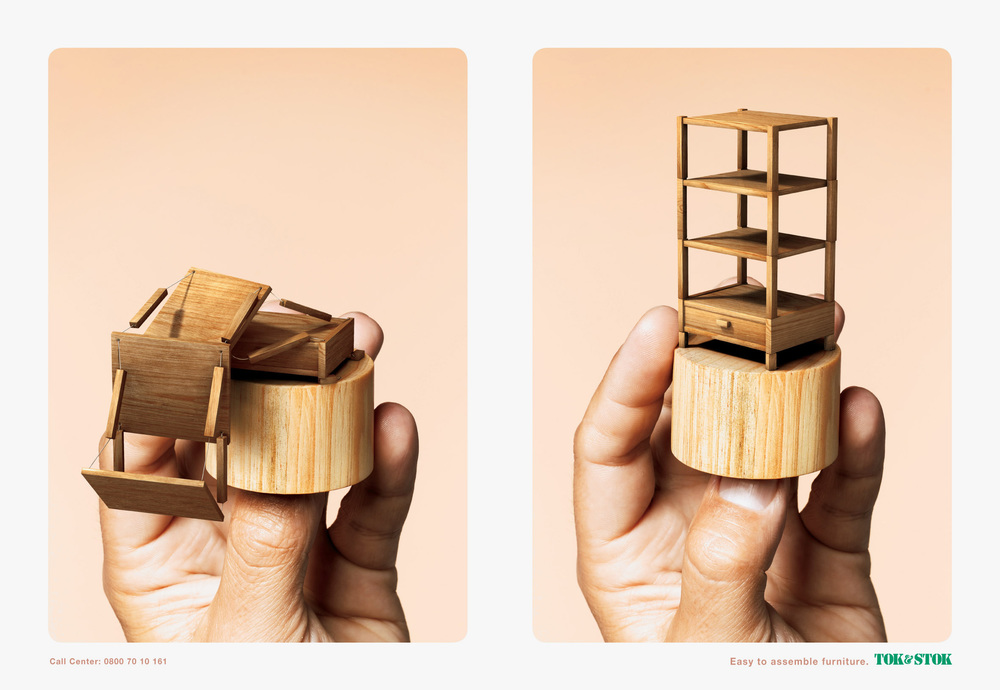 TOK & STOK <br> Easy to Assemble Furniture — MAX GERALDO