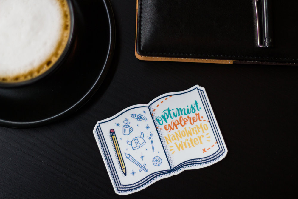 National Novel Writing Month Sticker