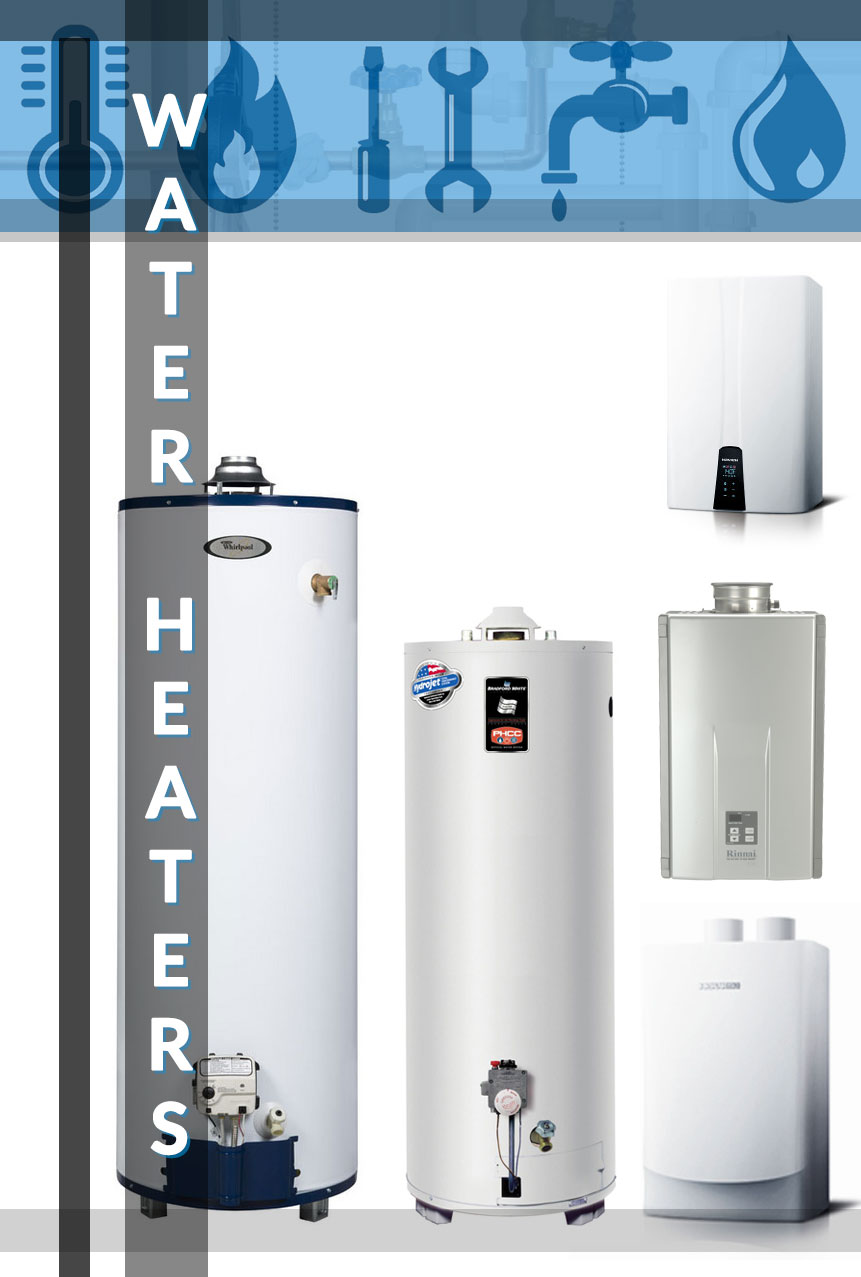 Looking for a tankless water heater or a conventional hot water heater? We're the water heater experts!