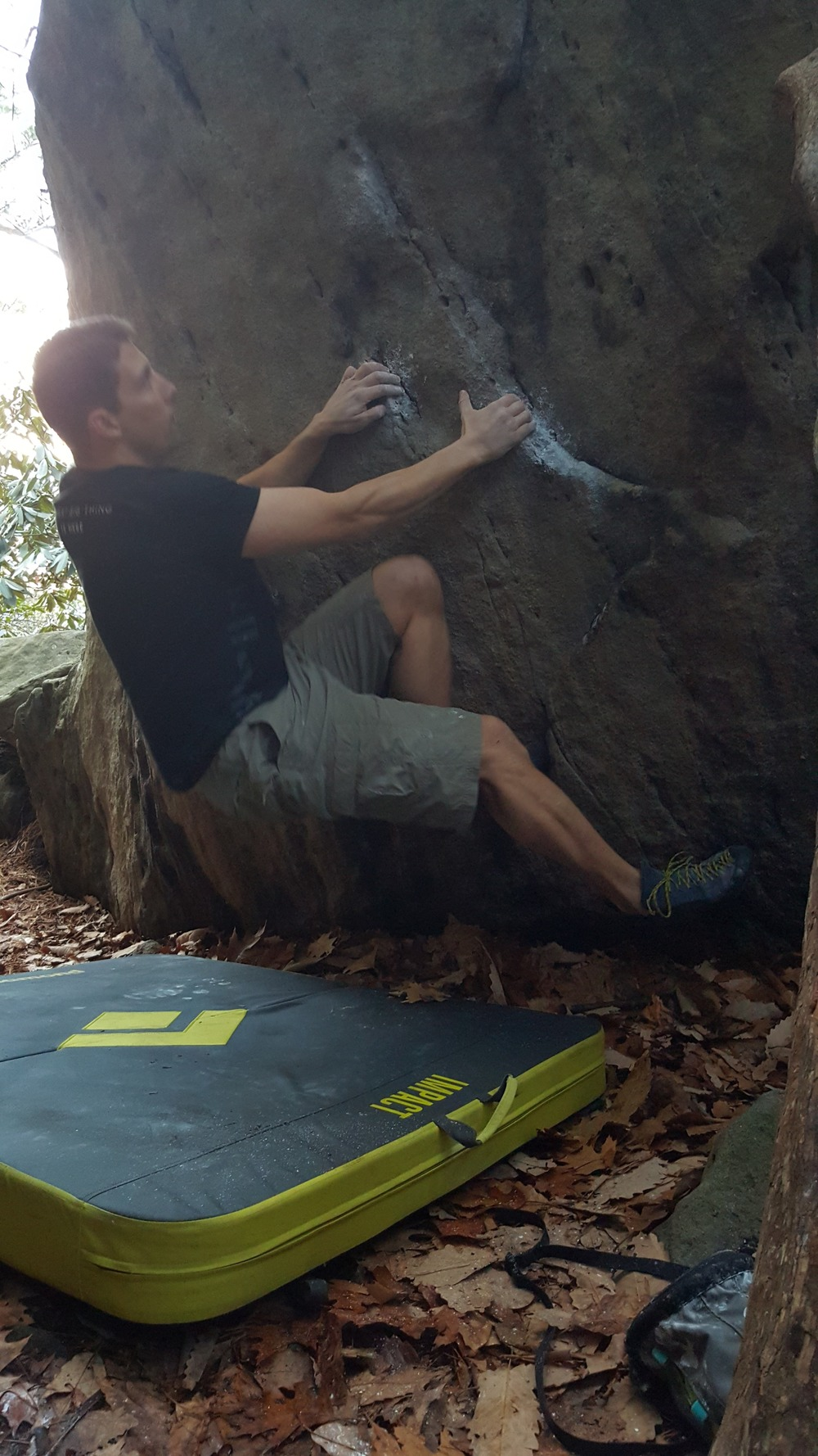 Climbing and Bouldering at Coopers Rock