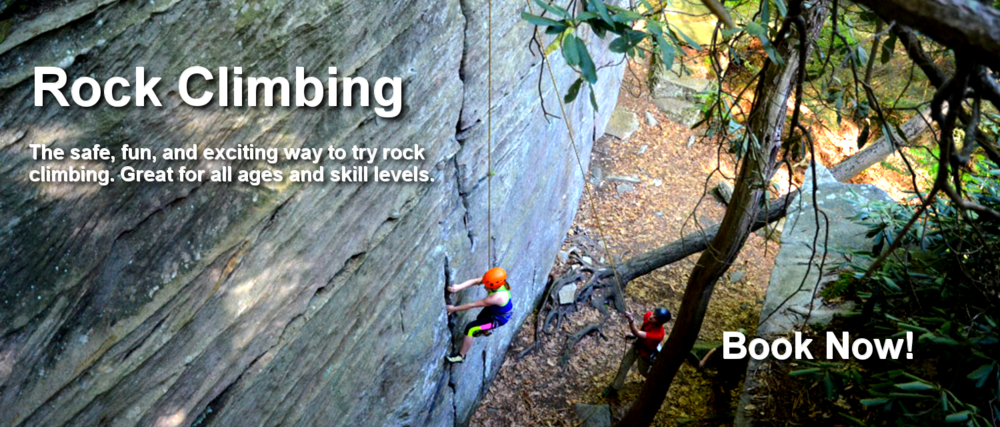 rock climbing at coopers rock state forest