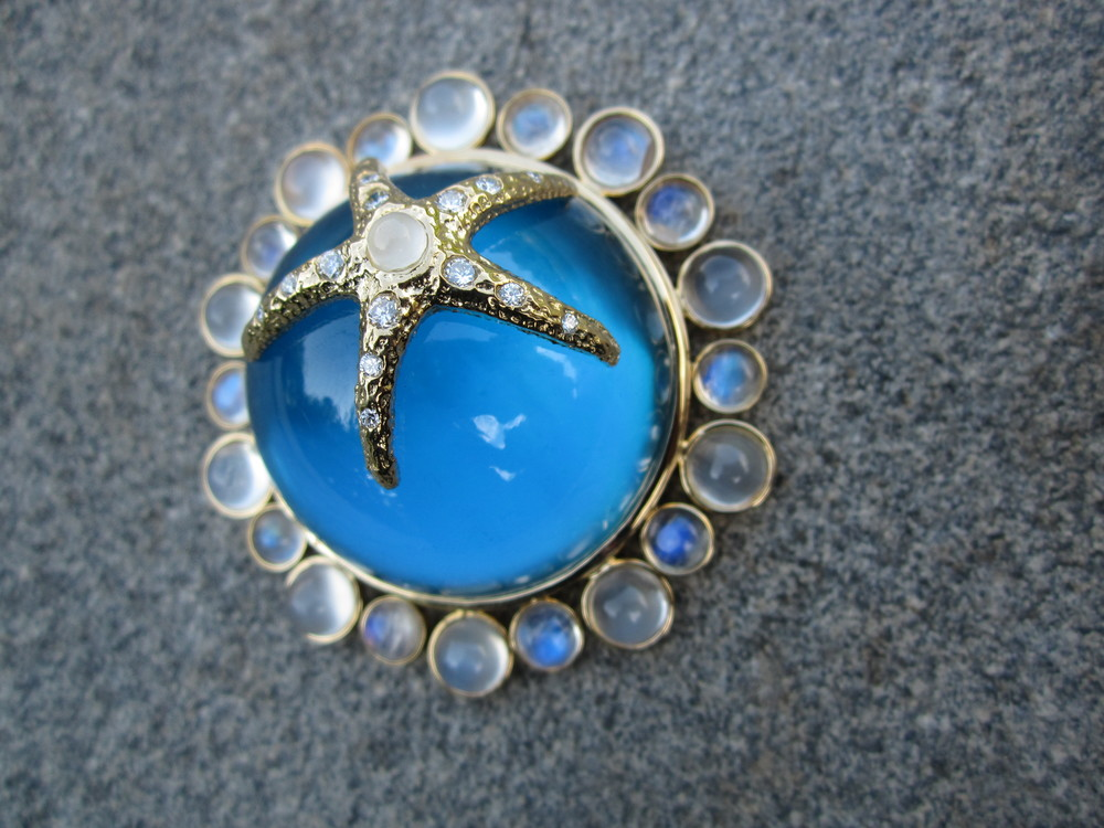 Blue Topaz Starfish