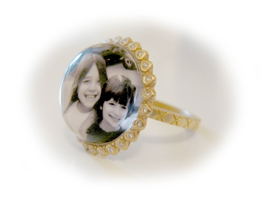 Jennifer Photo Ring
