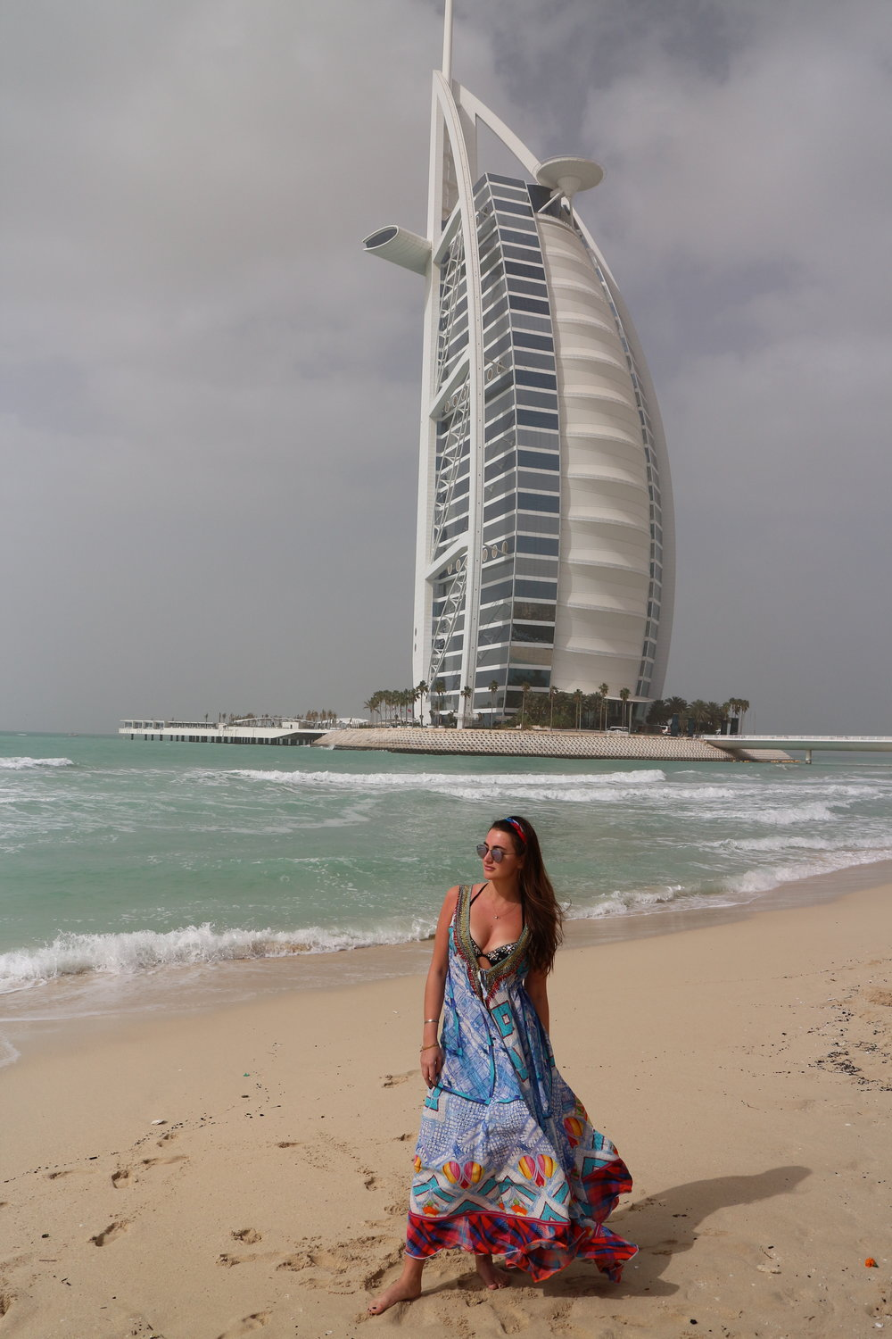 Burj Al Arab from the Al Naseem Beach