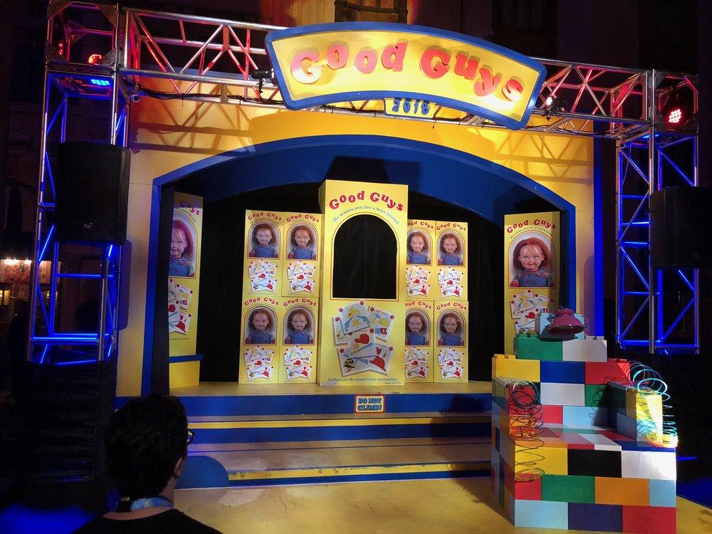 The Revenge of Chucky Scare Zone