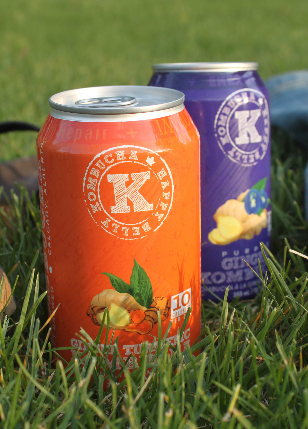 Happy Belly GINGER TURMERIC Kombucha
