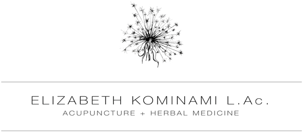Elizabeth Kominami LAc Acupuncture + Herbal Medicine