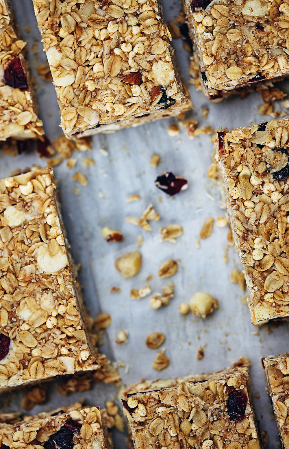 White Chocolate Macadamia Nut Granola Bars // Natural Girl Modern World // Gluten Free