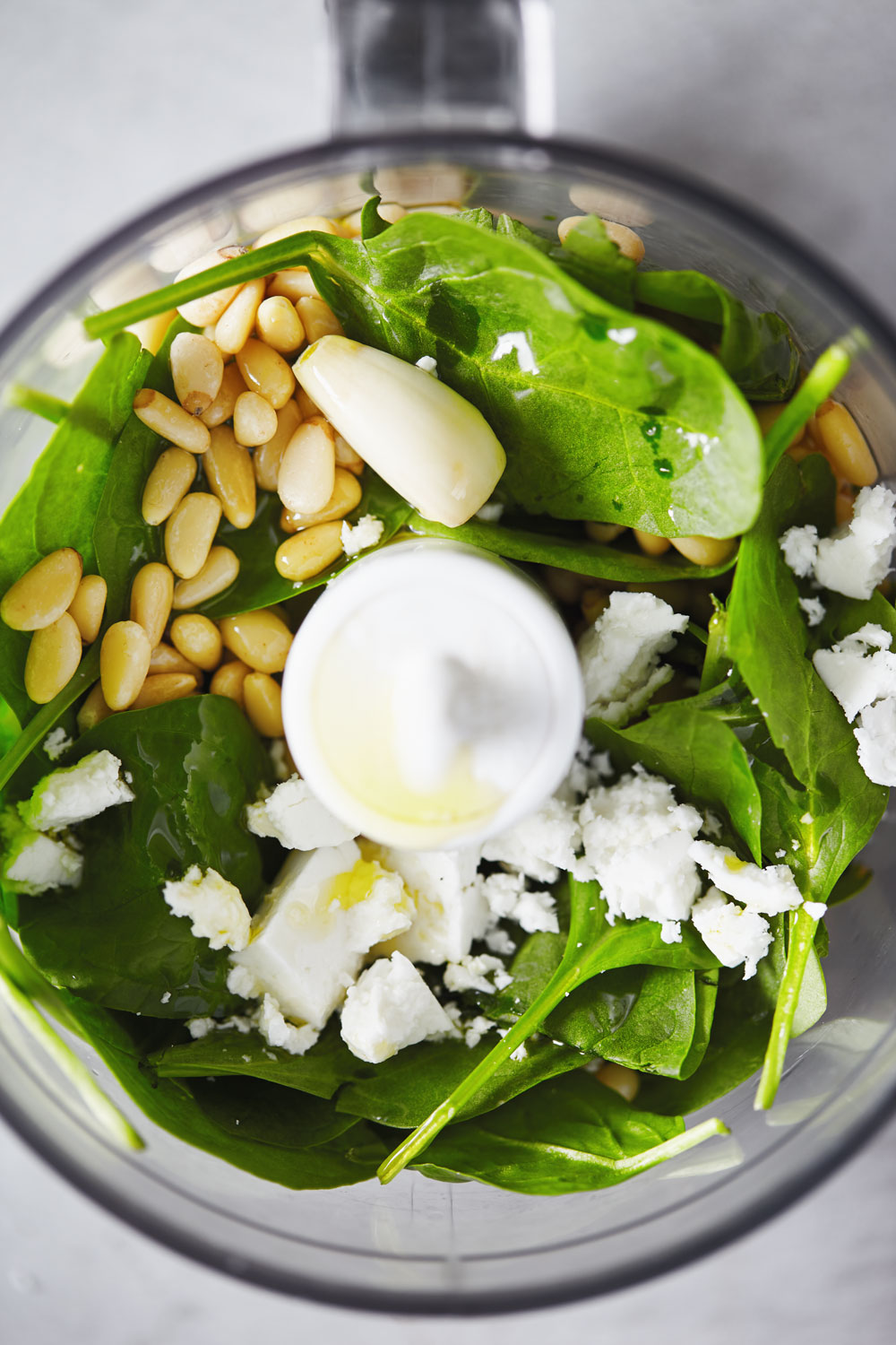 Grain Bowl with Spinach and Feta Pesto // Natural Girl Modern World
