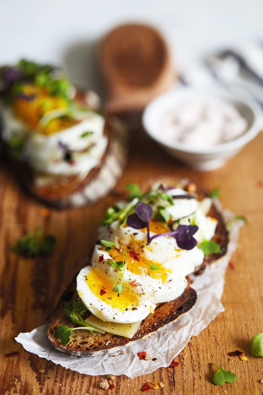 Easy Eggs on Toast // Natural Girl Modern World // Vegetarian & Gluten Free