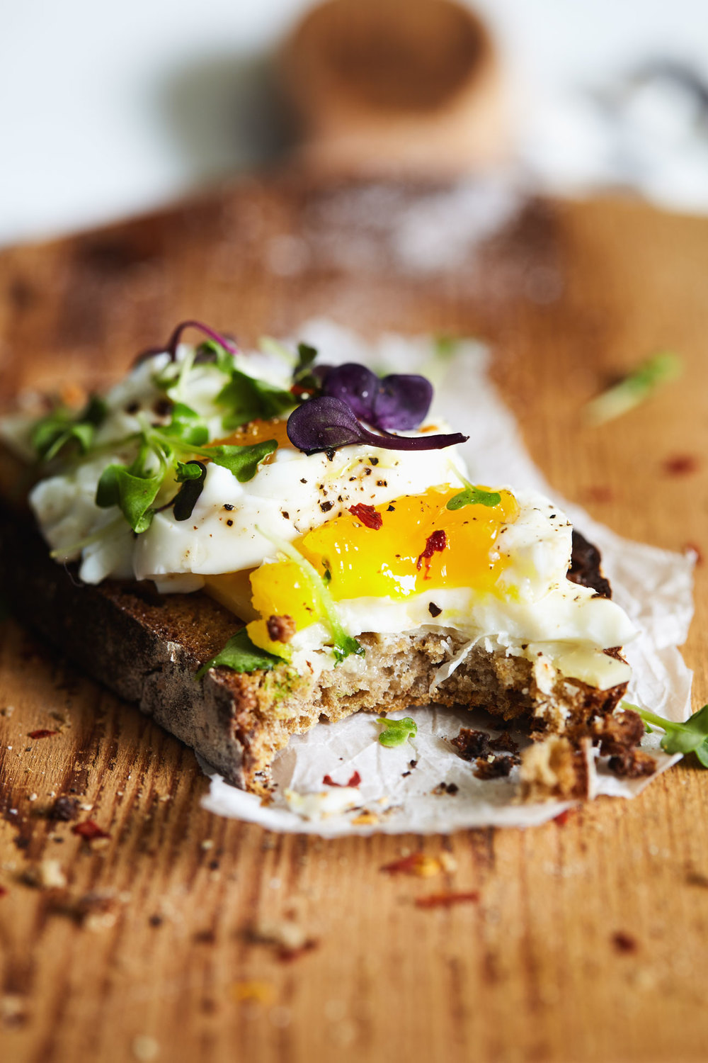 Easy Eggs on Toast // Natural Girl Modern World // Vegetarian & Gluten Free