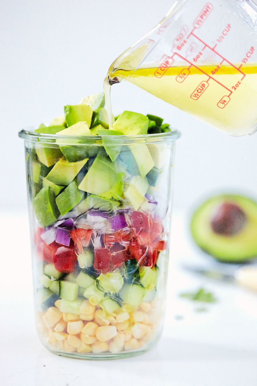 Avocado Ceviche & Chili Lime Chips // Natural Girl Modern World // Vegan & Gluten Free