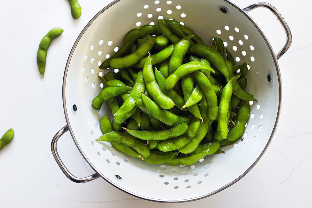 Sesame Spiced Edamame - Natural Girl Modern World - Vegan & Gluten Free