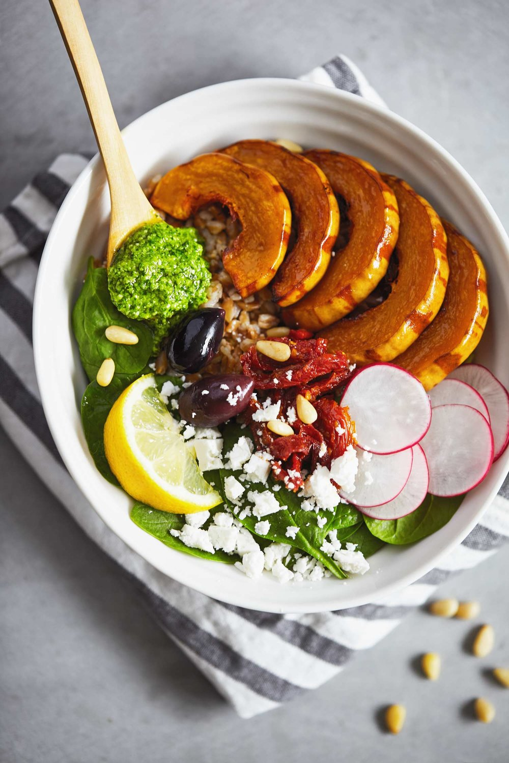 Grain-Bowl-with-Spinach-and-Feta-Pesta-Evergreen-Kitchen-1.jpg