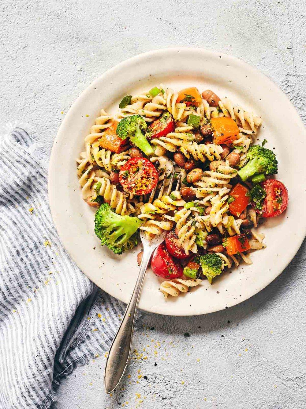 Pasta Salad | Evergreen Kitchen | Vegan