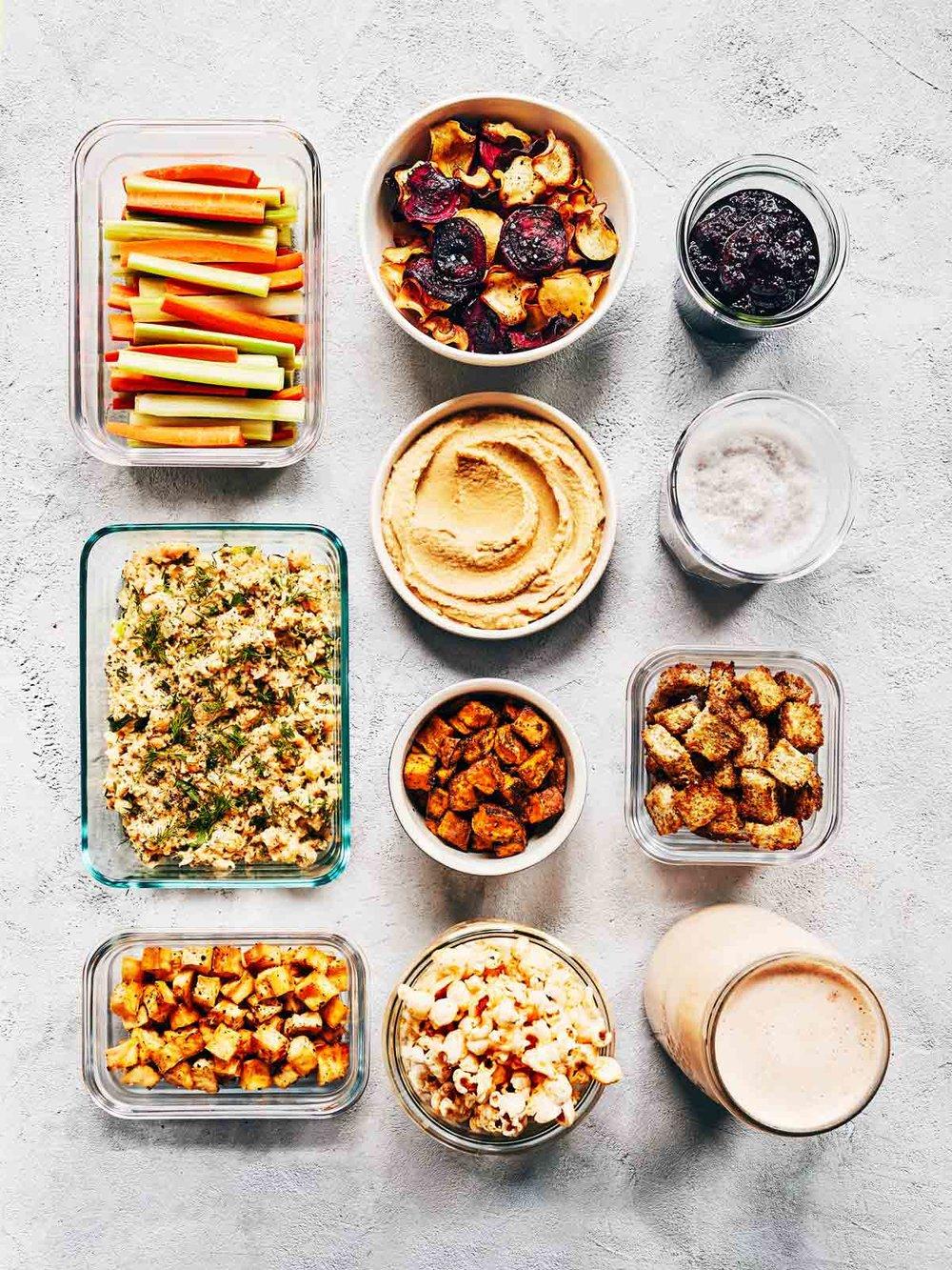 Sunday Meal Prep | Evergreen Kitchen | Vegan