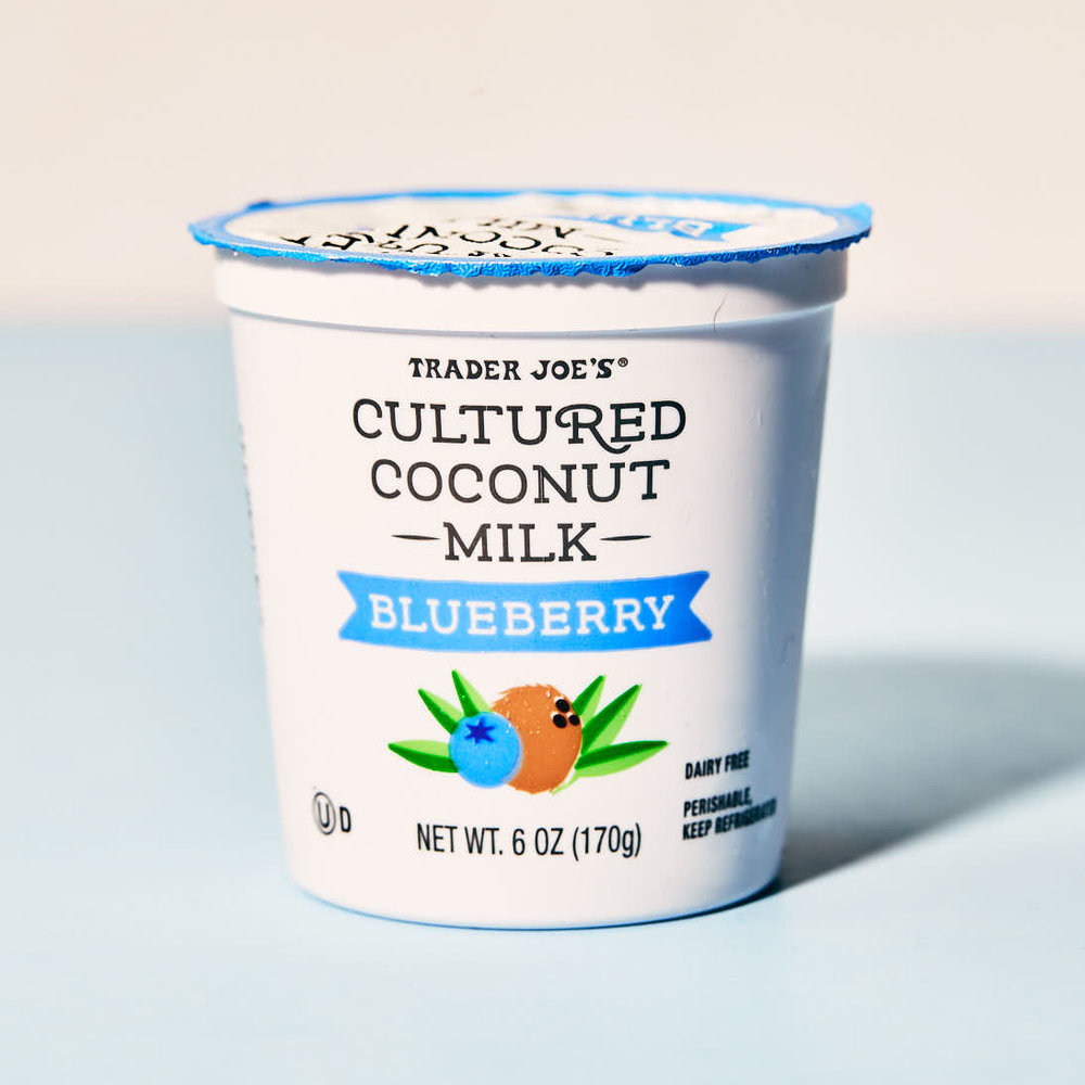Trader Joe's Cultured Coconut - Blueberry.jpg