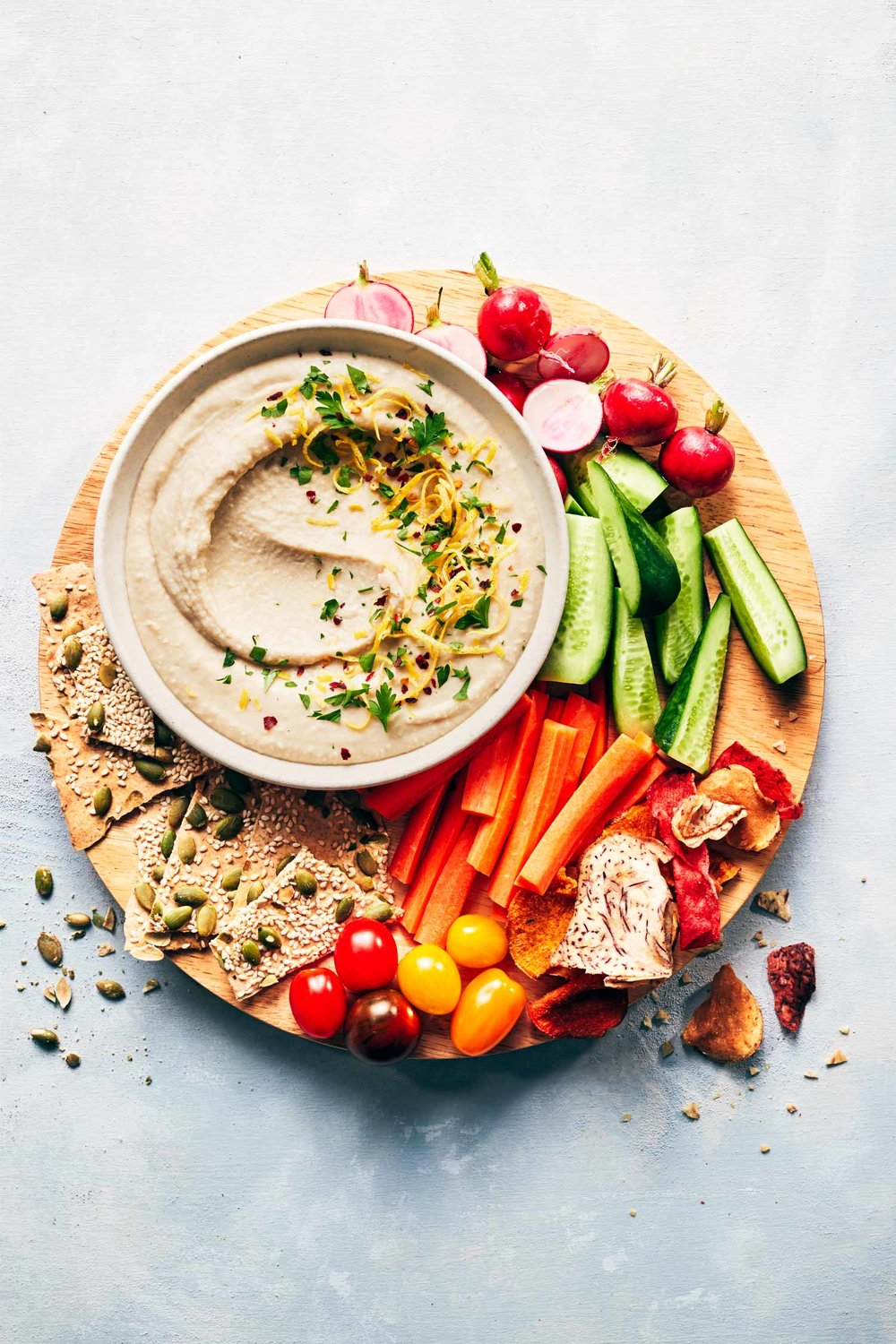 Creamy White Bean Dip | Evergreen Kitchen | Vegan & Gluten Free