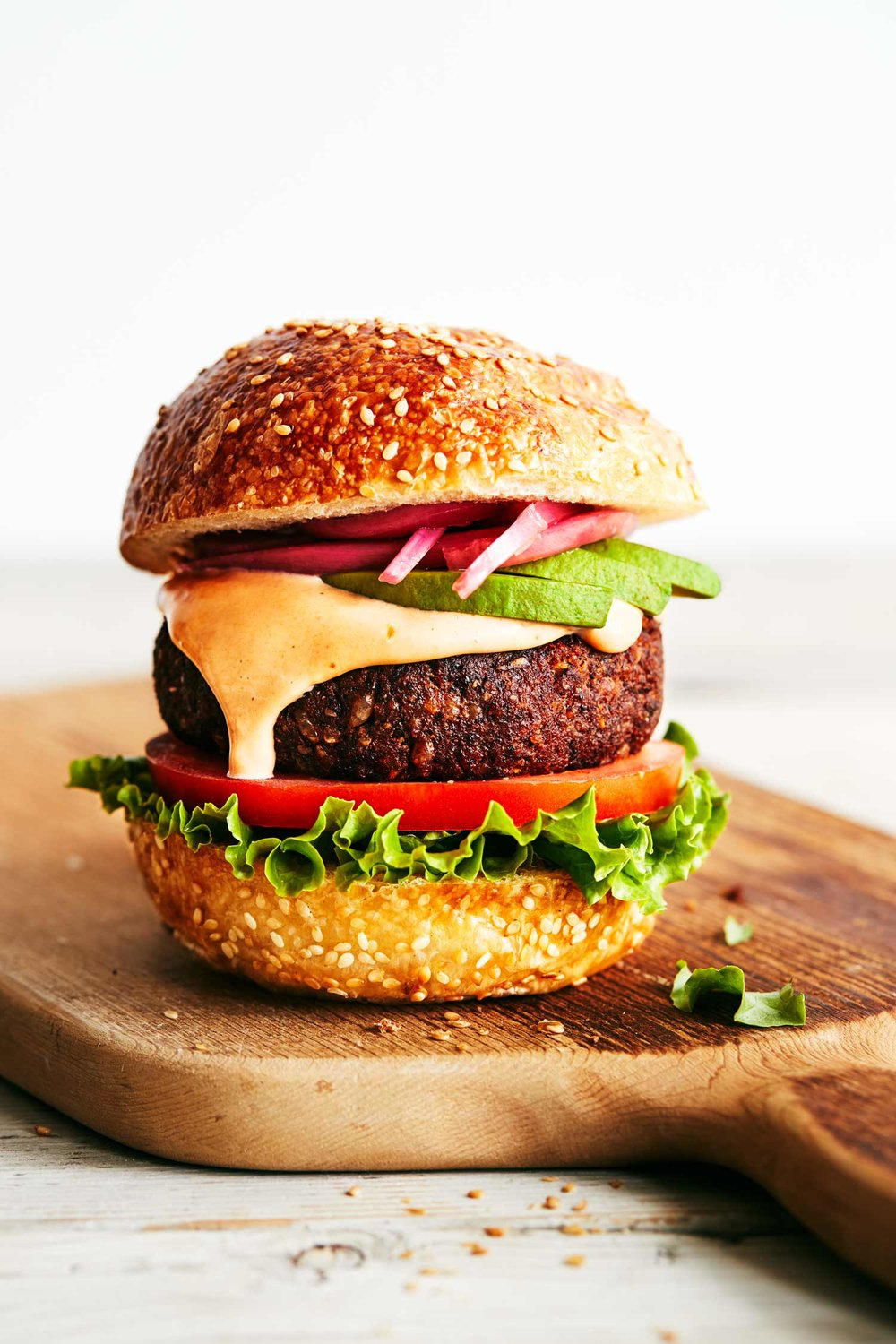 Chipotle Black Bean Burgers | Evergreen Kitchen | Vegan
