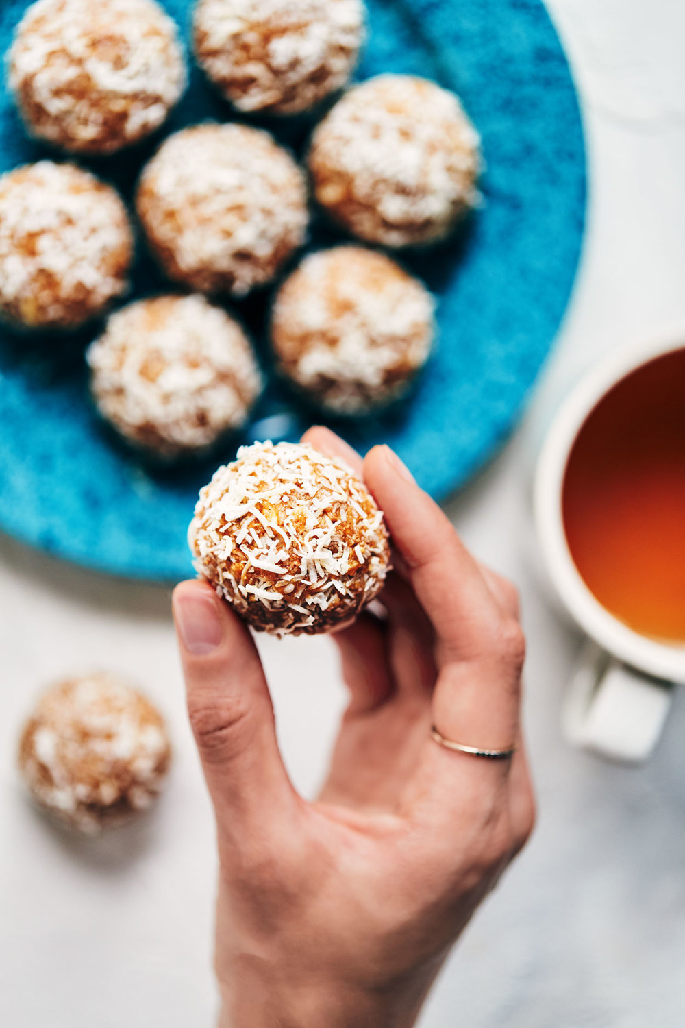 Peanut Butter Coconut Power Balls | Evergreen Kitchen | Vegan, Gluten Free