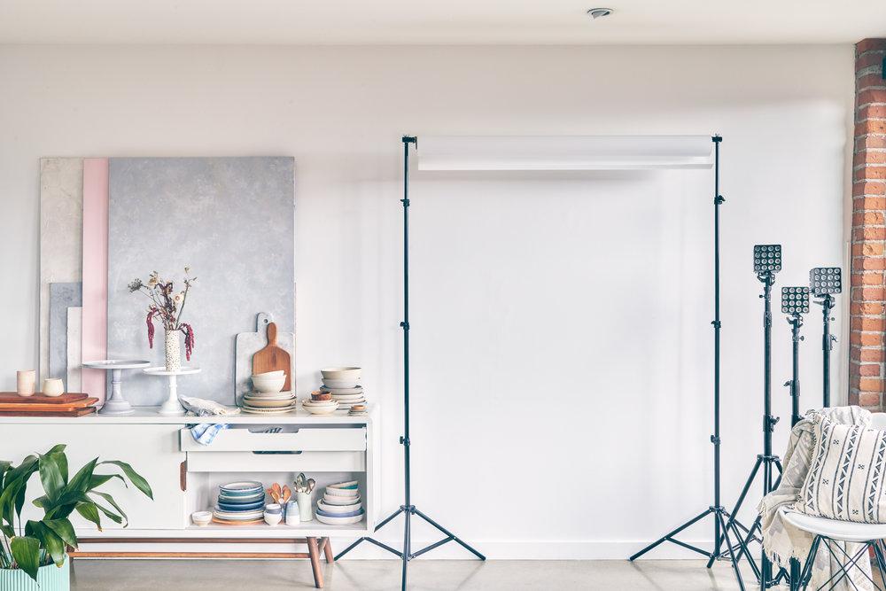 Evergreen Kitchen's Photography Studio