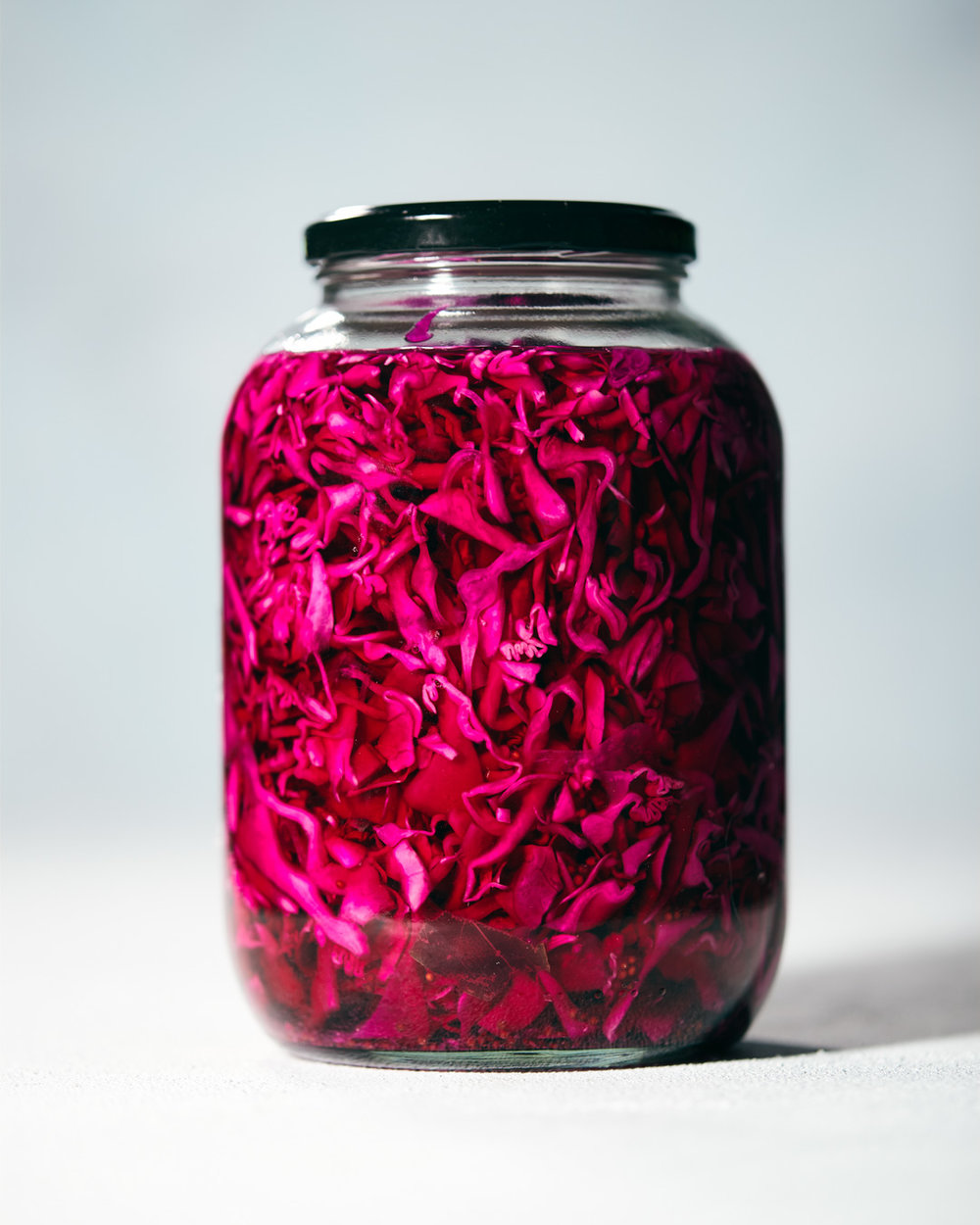 Pickled Red Cabbage | Evergreen Kitchen | Vegan, Gluten Free