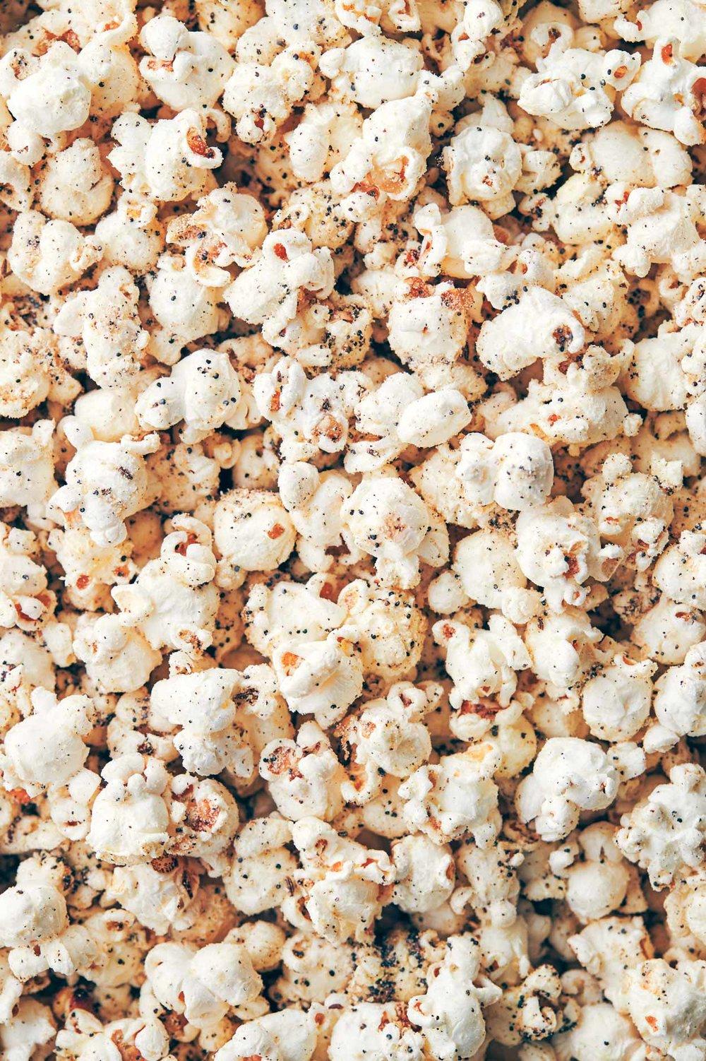 Everything Bagel Popcorn Seasoning | Evergreen Kitchen | Vegan (option), Gluten Free