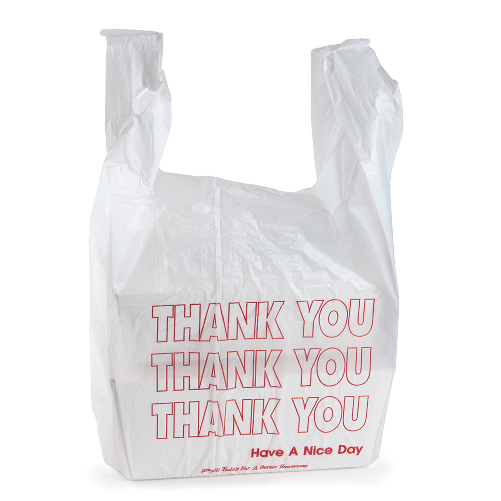 Plastic grocery bags the image kid has it for Plastic t shirt bag