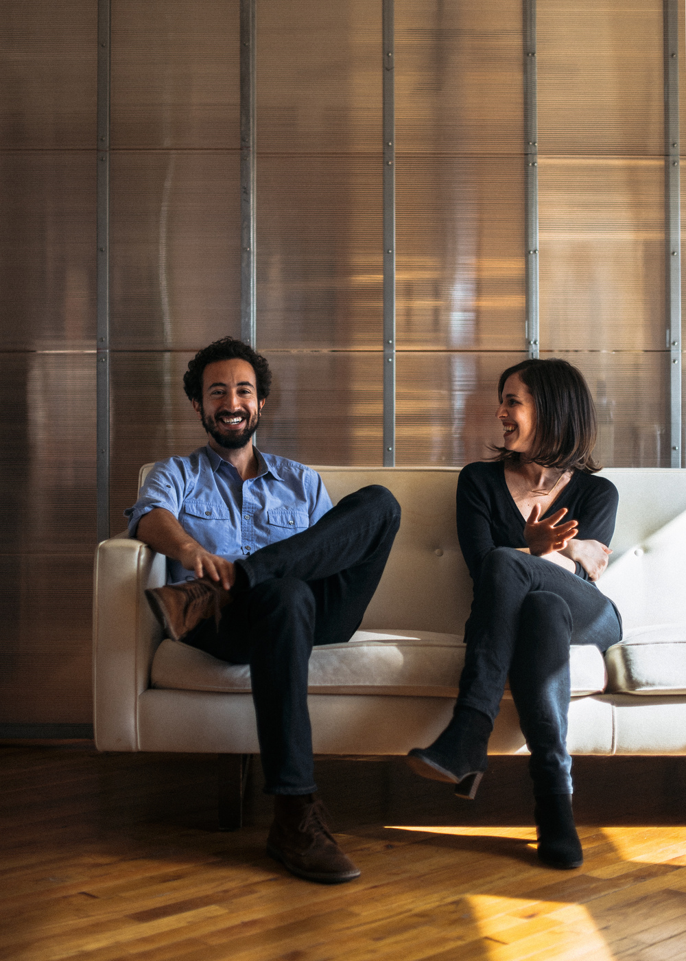 Josh Kriegman & Elyse Steinberg, Co-Directors of Weiner - Brooklyn Magazine - 2016