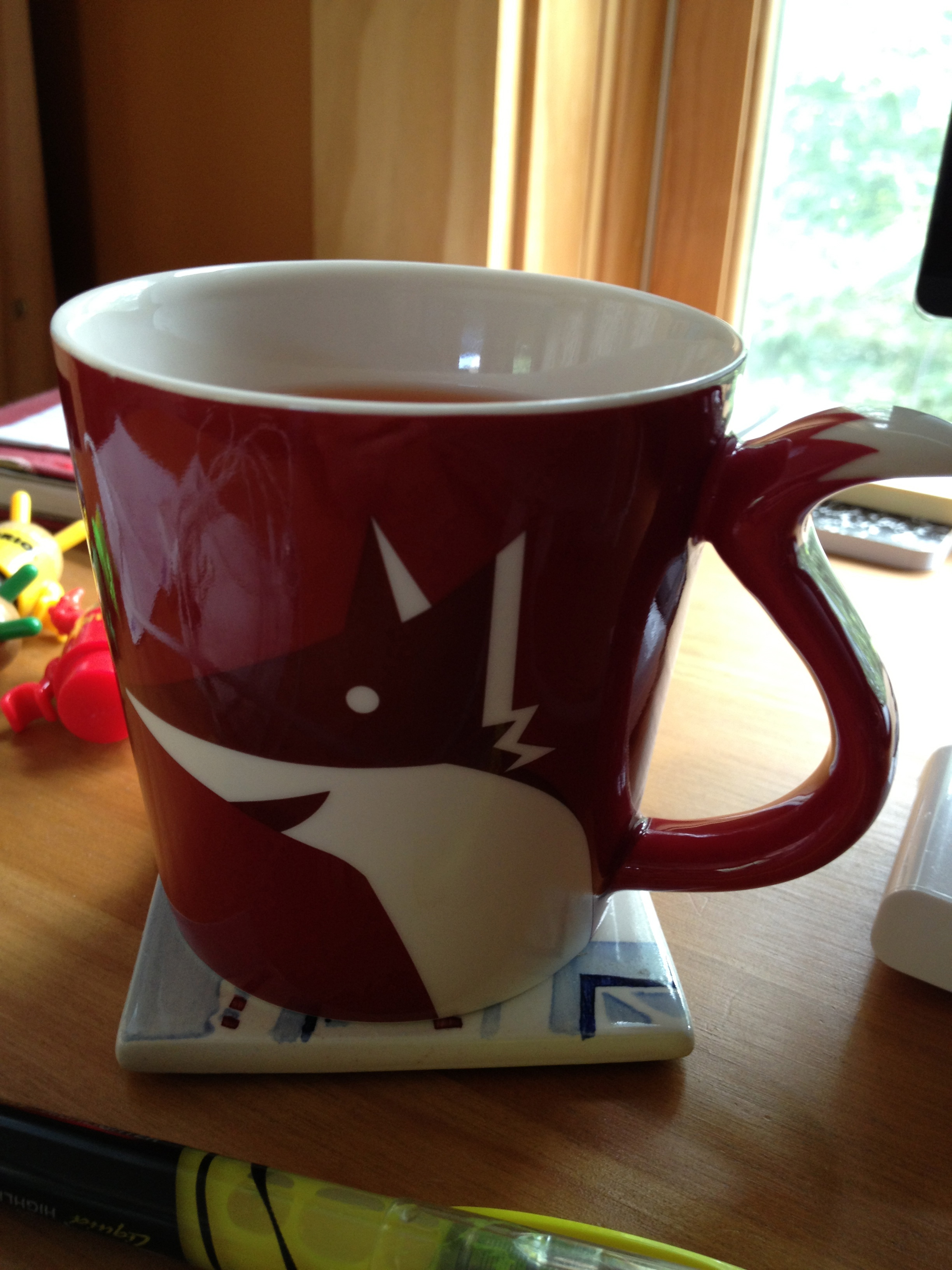Up Popped A Fox Mug