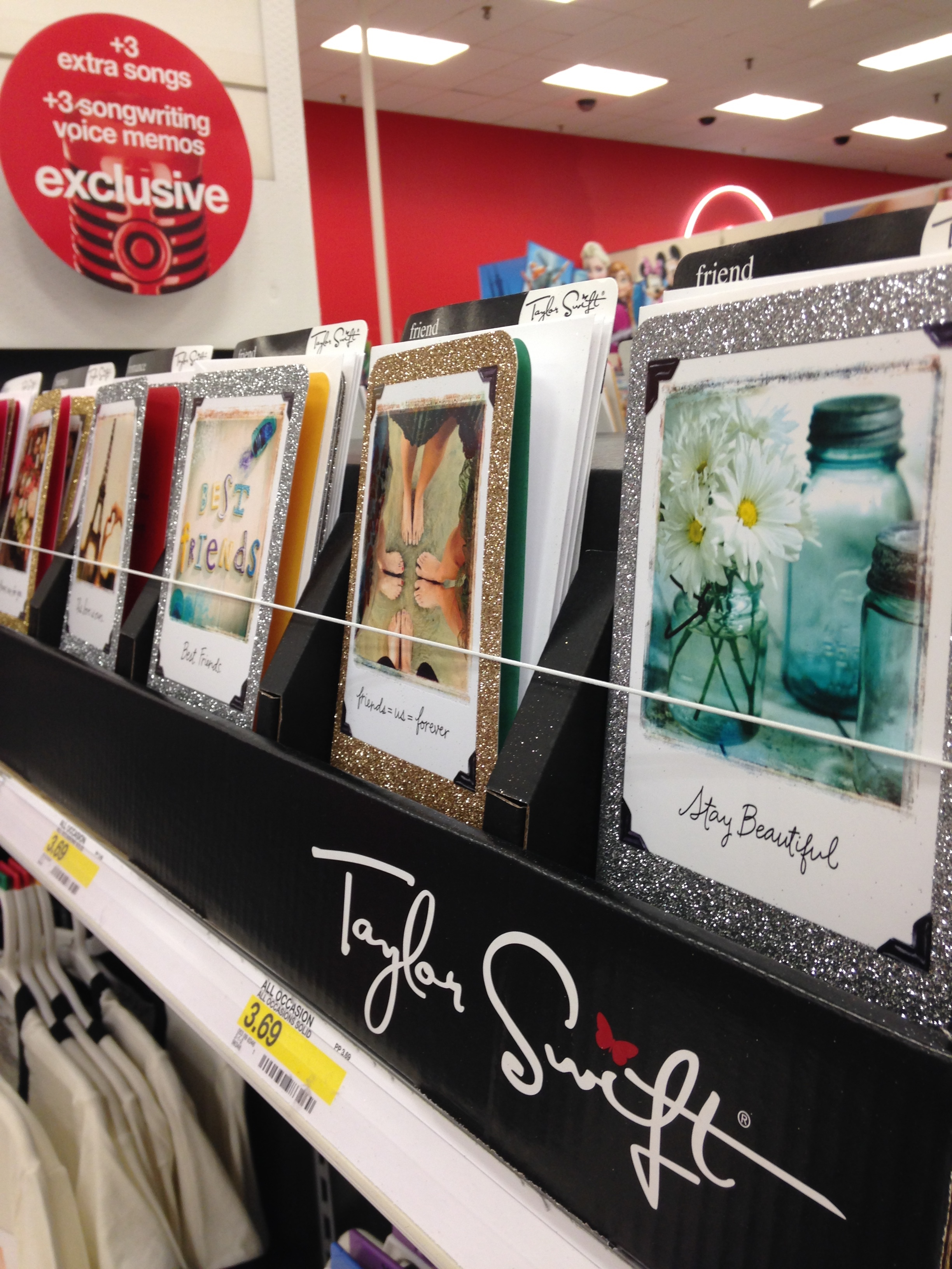 Yes Taylor Swift Has Her Own Line Of Cards At Target And She Wants Us All
