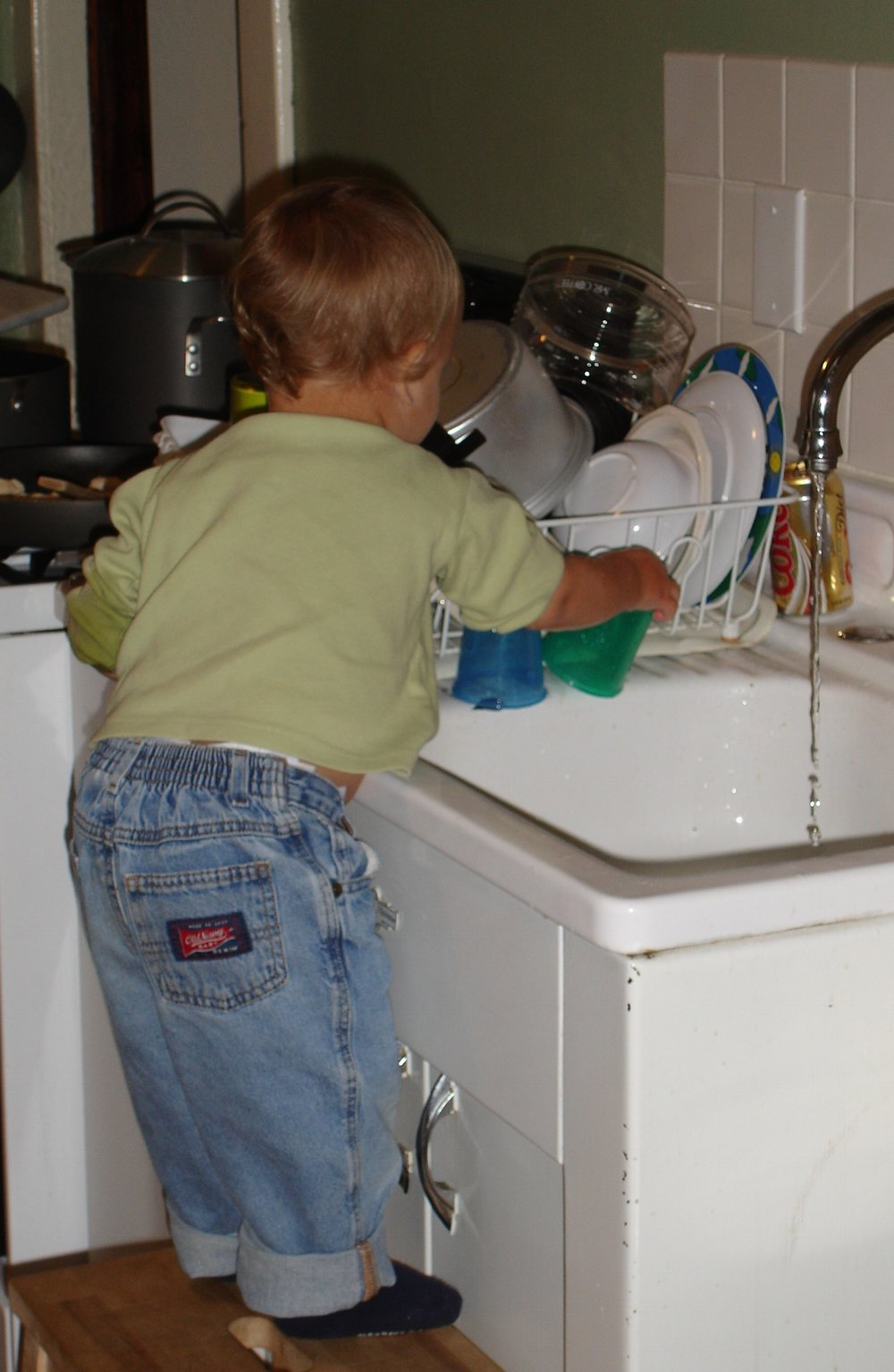 When dishes were fun...