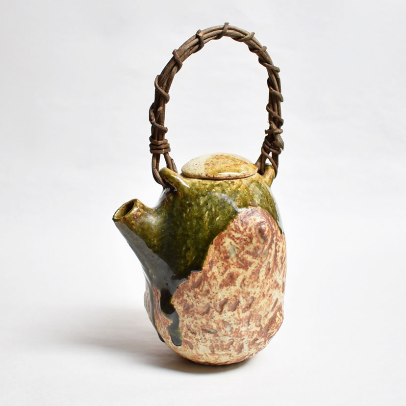 Oribe teapot