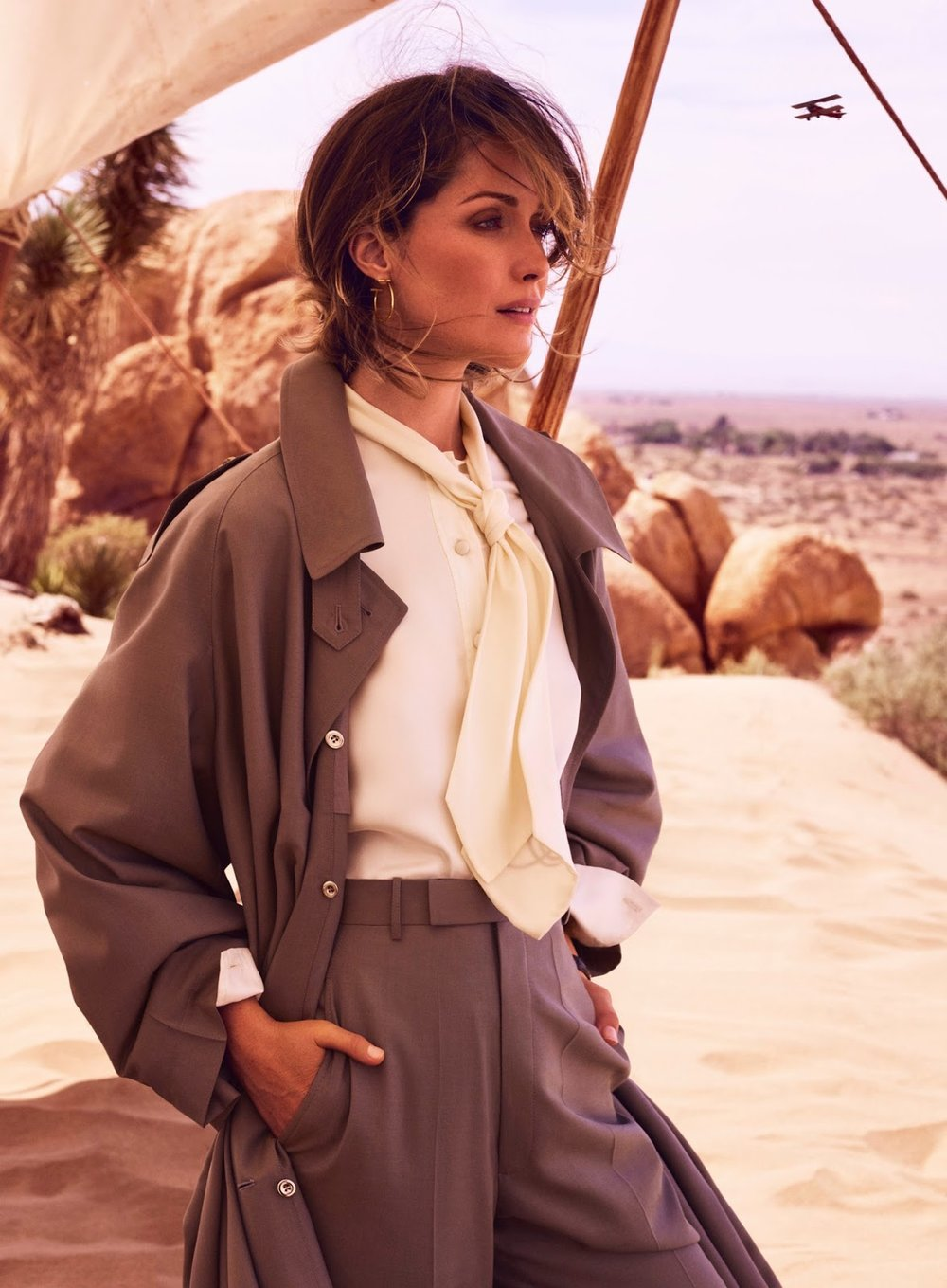 Rose Byrne | Desert Rose | InStyle August 2017
