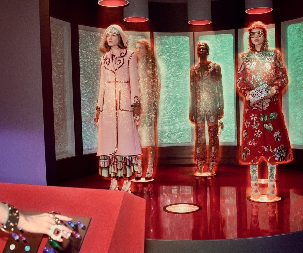 """""""Gucci and Beyond"""", photos by Glen Luchford"""
