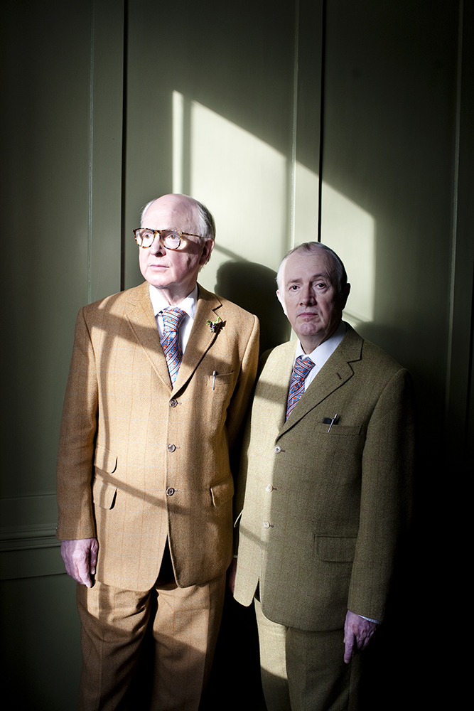 Gilbert & George for Tatler Hong Kong