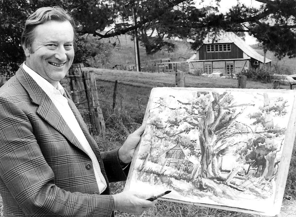 Artist, Lobbyist and Conservationist Walter Wotzke OAM