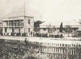 Hahndorf Academy in 1871