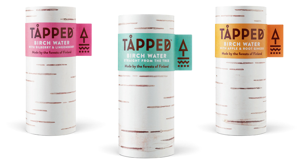 Tapped Birch Water