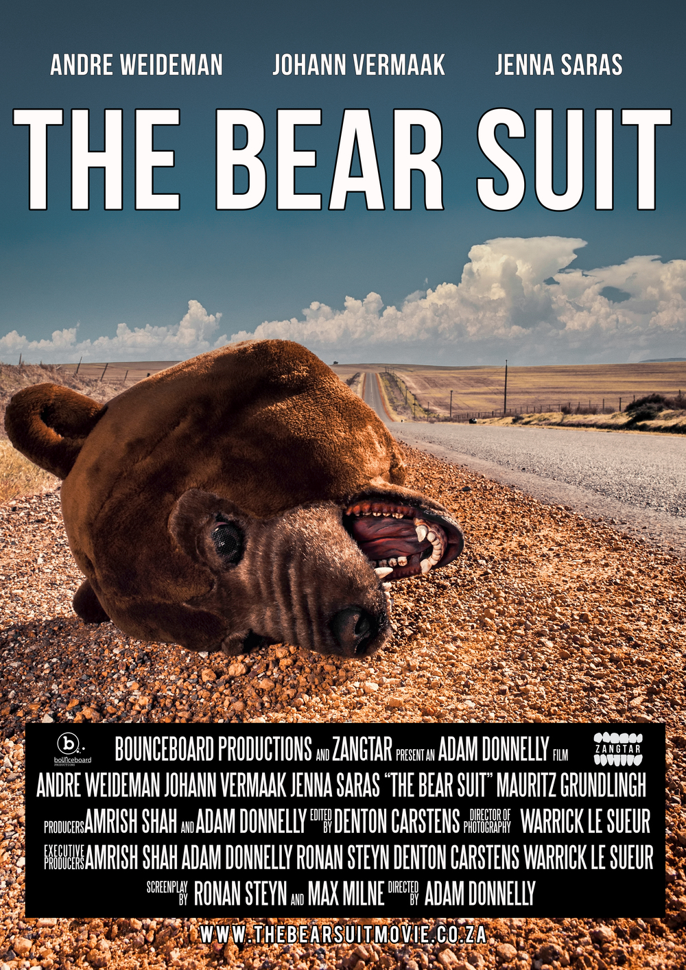 Adam - Donnelly -The Bear Suit - Production Stills 02 The Bear Suit Poster.jpg