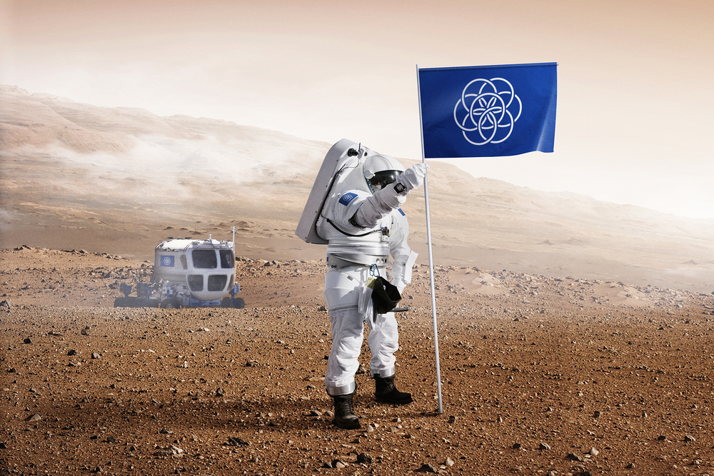flag planet eath vector флаг планета земля вектор