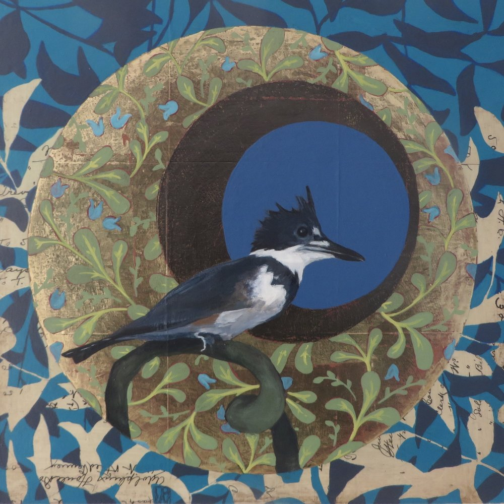 Victorian Sprial - Kingfisher