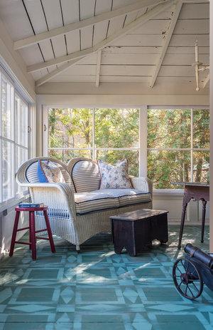 Textile Inspired Floor