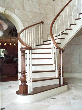 Limestone Stairwell
