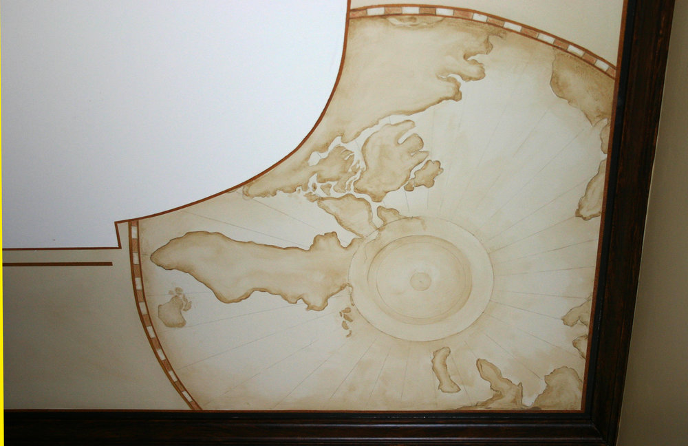 Maps on the Ceiling