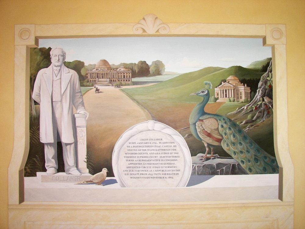 Jacob Collamer Mural