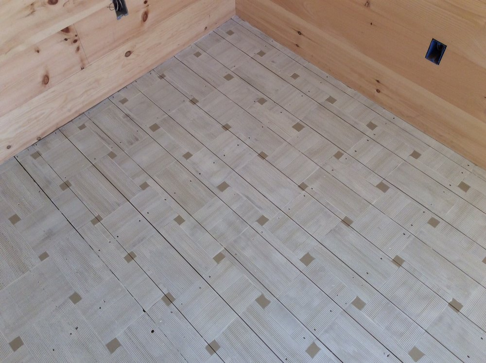 Basketweave Cabin Floor