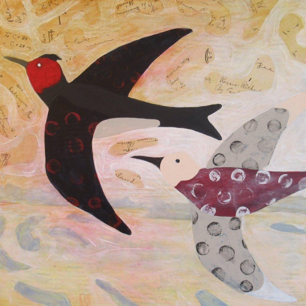 Morning Flight - Love Birds